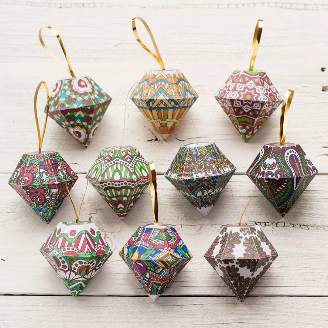 Best ideas about DIY Paper Christmas Decorations . Save or Pin DIY Christmas Ornaments Now.