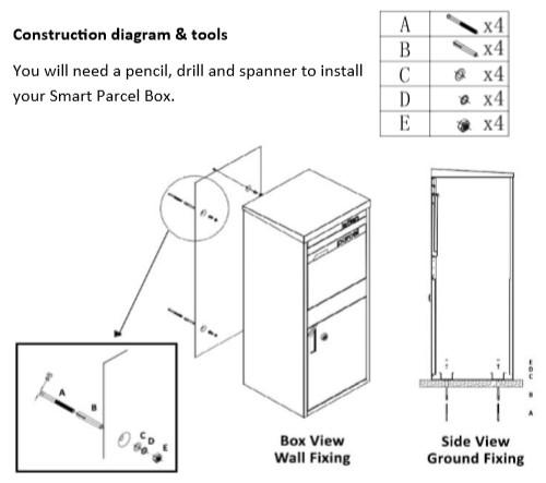 Best ideas about DIY Parcel Drop Box Plans . Save or Pin DIY Installation Instructions of Smart Parcel Drop Box Now.