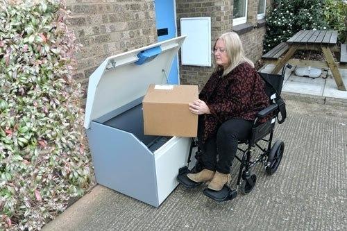 Best ideas about DIY Parcel Drop Box Plans . Save or Pin parcel drop box – innovationhubs Now.