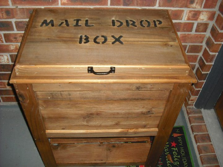 Best ideas about DIY Parcel Drop Box Plans . Save or Pin Custom Rustic Woodworks Custom Rustic Wood Book Now.