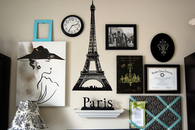 Best ideas about DIY Paris Room Decor . Save or Pin Paris Gallery Wall s and for Now.