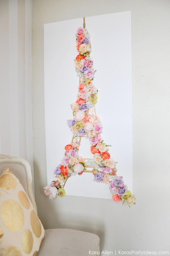 Best ideas about DIY Paris Room Decor . Save or Pin Kara s Party Ideas DIY Springtime in Paris Eiffel Tower Now.