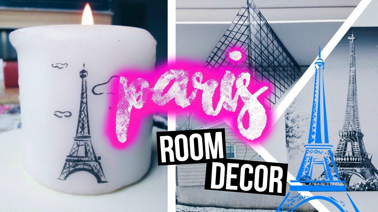 Best ideas about DIY Paris Room Decor . Save or Pin DIY City Inspired Room Decor PARIS 🌸 Now.