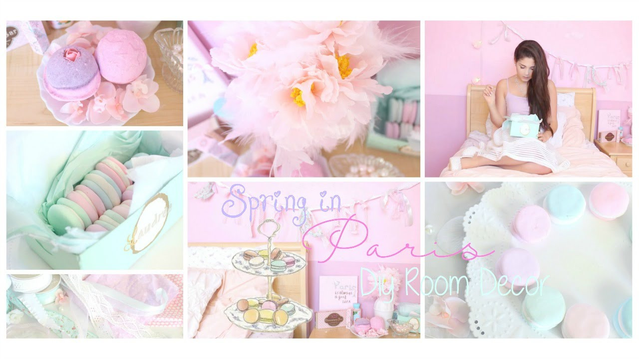 Best ideas about DIY Paris Room Decor . Save or Pin Spring in Paris DIY Room Decor Girly & French Part 1 Now.