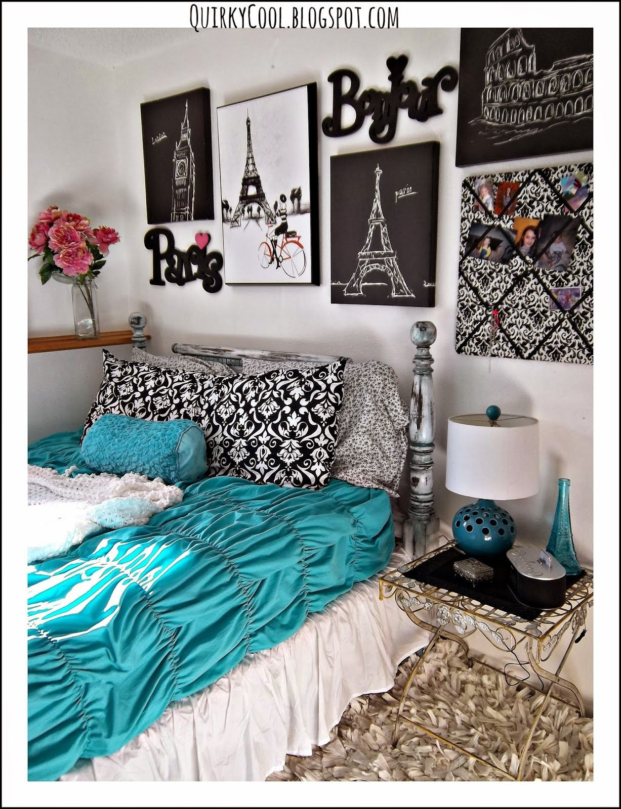 Best ideas about DIY Paris Room Decor . Save or Pin Quirky Cool A Parisian Chic Room Now.