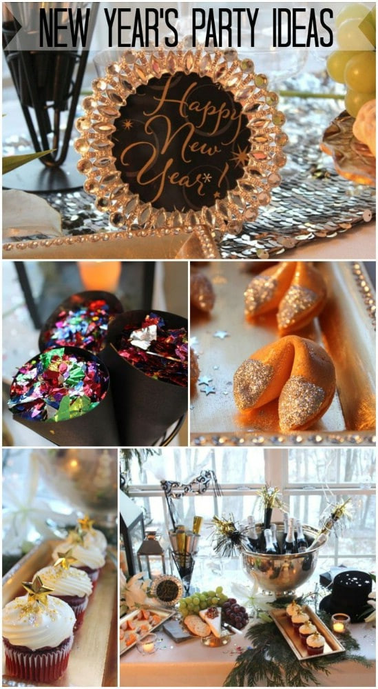 Best ideas about DIY Party Decorations . Save or Pin 28 Fun and Easy DIY New Year's Eve Party Ideas DIY & Crafts Now.