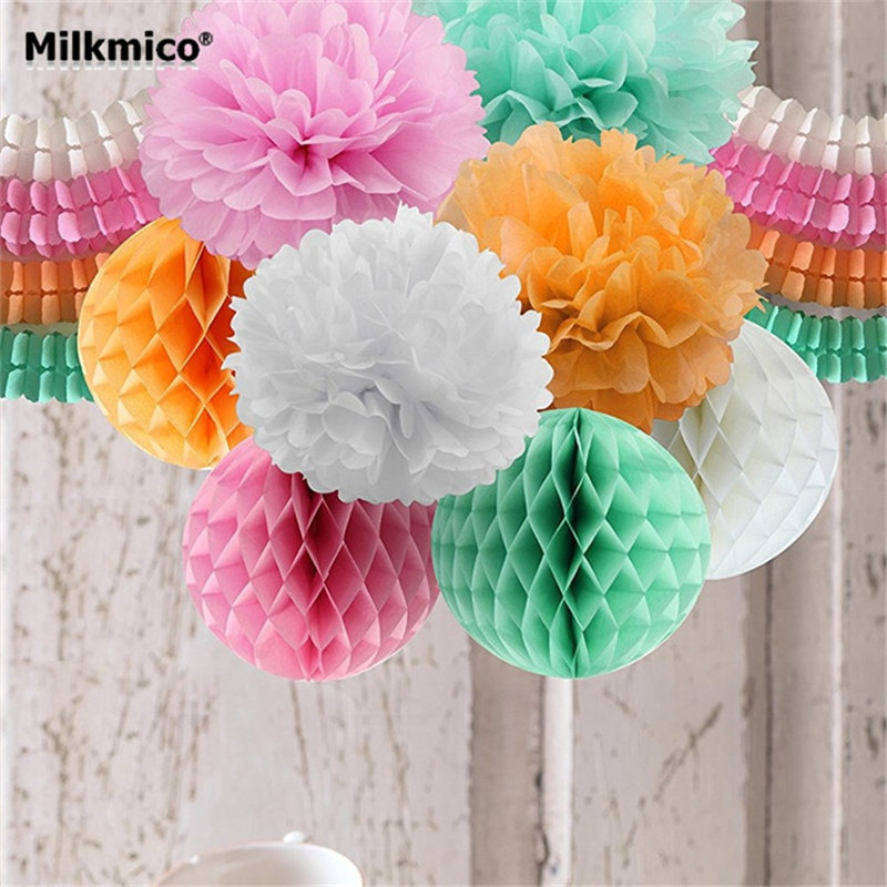Best ideas about DIY Party Decorations . Save or Pin DIY Party Decoration Set String Garlands Bouquet Honey b Now.