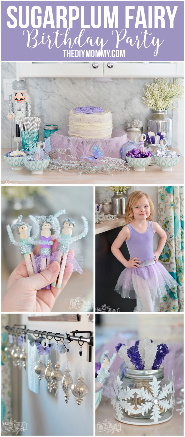 Best ideas about DIY Party Decorations . Save or Pin Sugar Plum Fairy Nutcracker Ballerina Party Ideas DIY Now.