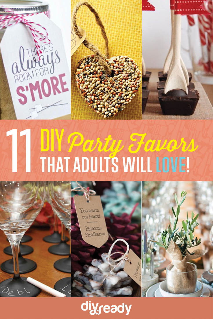Best ideas about DIY Party Favors For Adults . Save or Pin 11 Personalized Adult Party Favor Ideas Now.