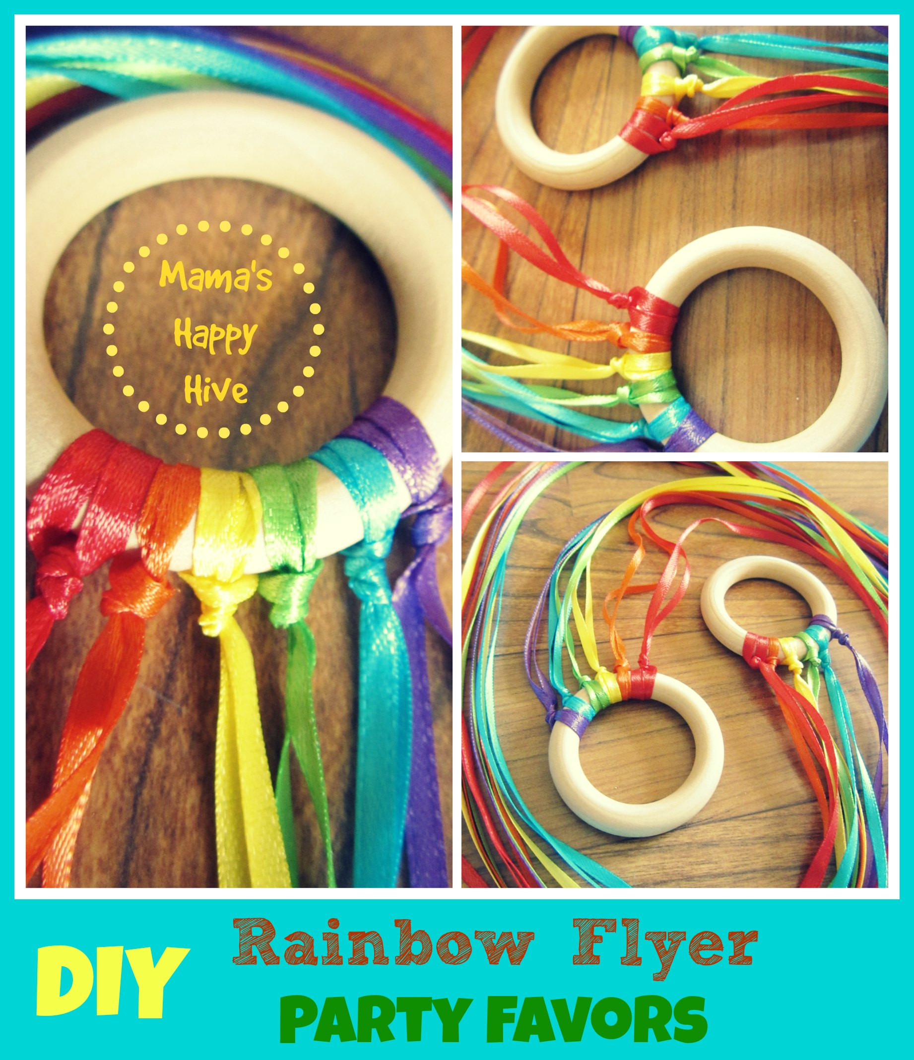 Best ideas about DIY Party Favors . Save or Pin DIY Party Favors Mini Rainbow Flyer Mama s Happy Hive Now.