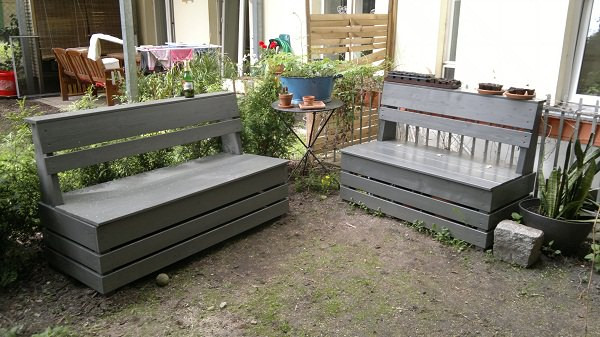 Best ideas about DIY Patio Benches . Save or Pin 20 Amazing DIY Garden Furniture Ideas Now.
