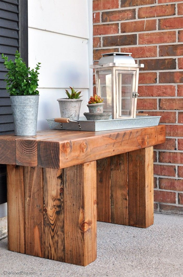 Best ideas about DIY Patio Benches . Save or Pin Best 20 Outdoor benches ideas on Pinterest Now.