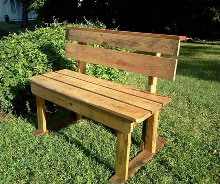 Best ideas about DIY Patio Benches . Save or Pin DIY Pallet Patio Bench Ideas Now.