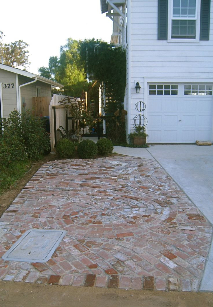 Best ideas about DIY Paver Driveway . Save or Pin 17 Best ideas about Brick Driveway on Pinterest Now.