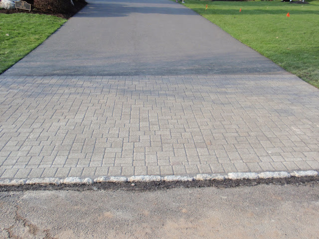 Best ideas about DIY Paver Driveway . Save or Pin DIY by Design Paver Driveway Apron Now.