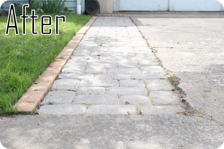 Best ideas about DIY Paver Driveway . Save or Pin DIY Widening the Driveway Now.