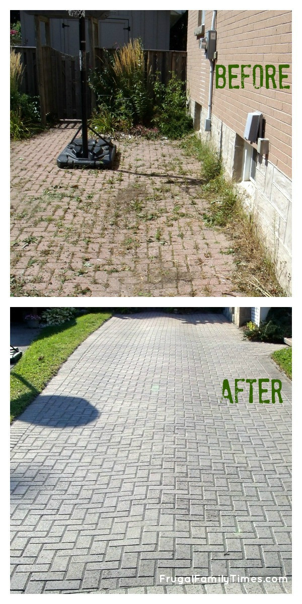 Best ideas about DIY Paver Driveway . Save or Pin How to Make a Weed free Brick Driveway that Stays that Now.