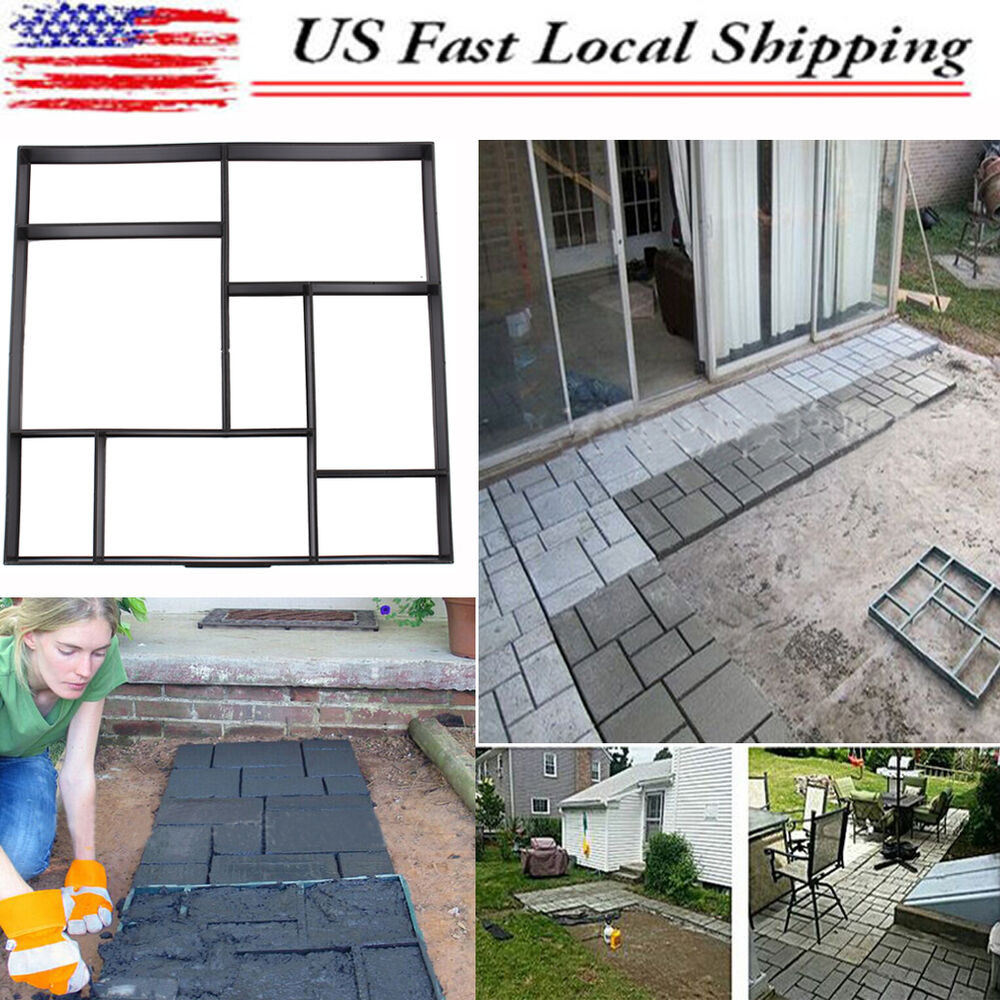 Best ideas about DIY Paver Driveway . Save or Pin DIY Driveway Paving Pavement Mold Concrete Stepping Stone Now.
