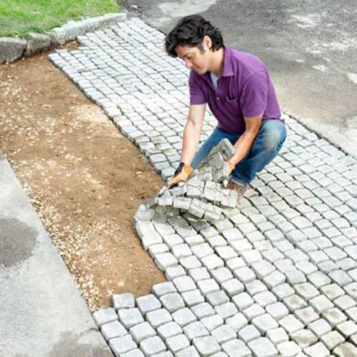 Best ideas about DIY Paver Driveway . Save or Pin How to Build a Driveway Apron – iSeeiDoiMake Now.