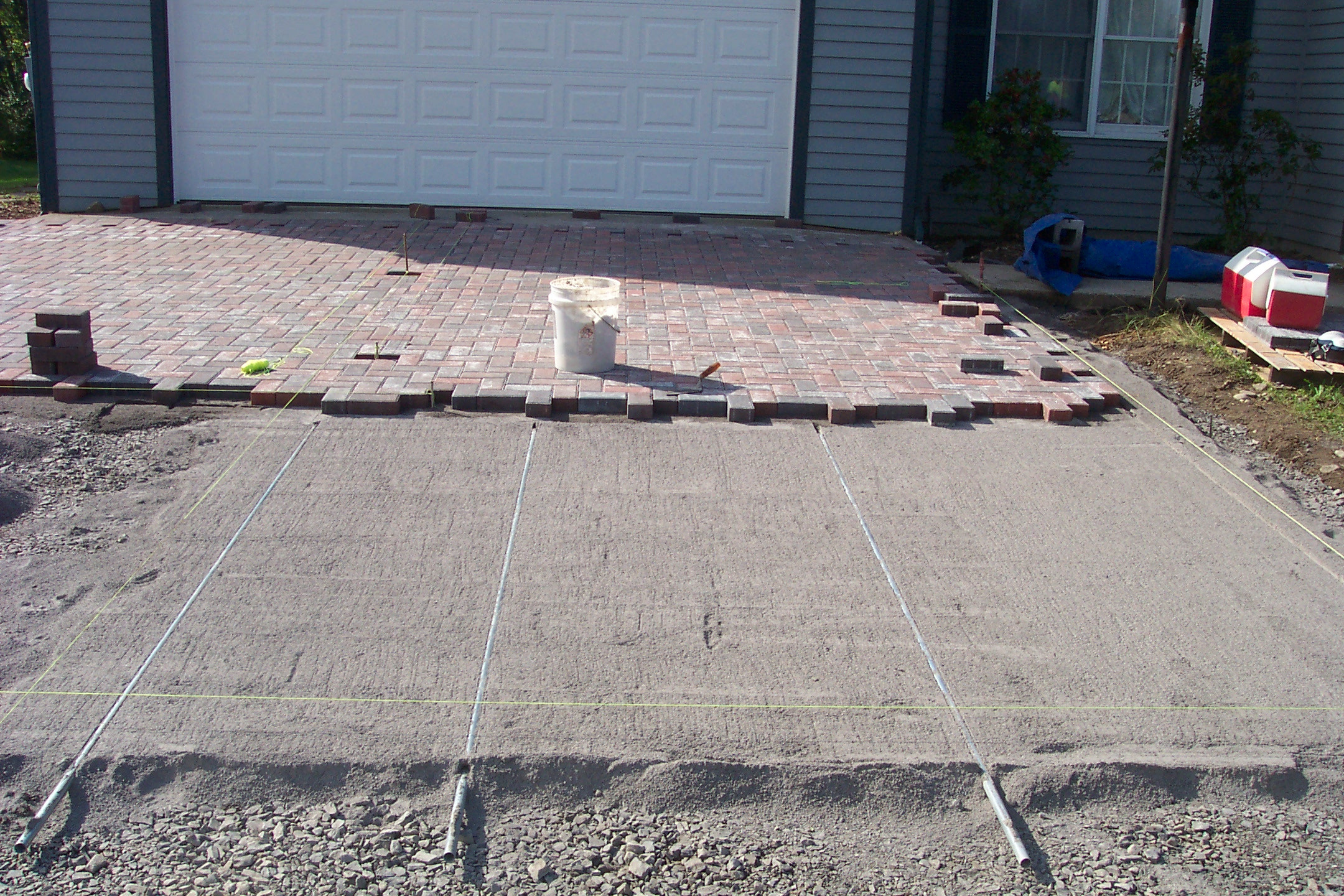 Best ideas about DIY Paver Driveway . Save or Pin Paver Driveway 4 Now.