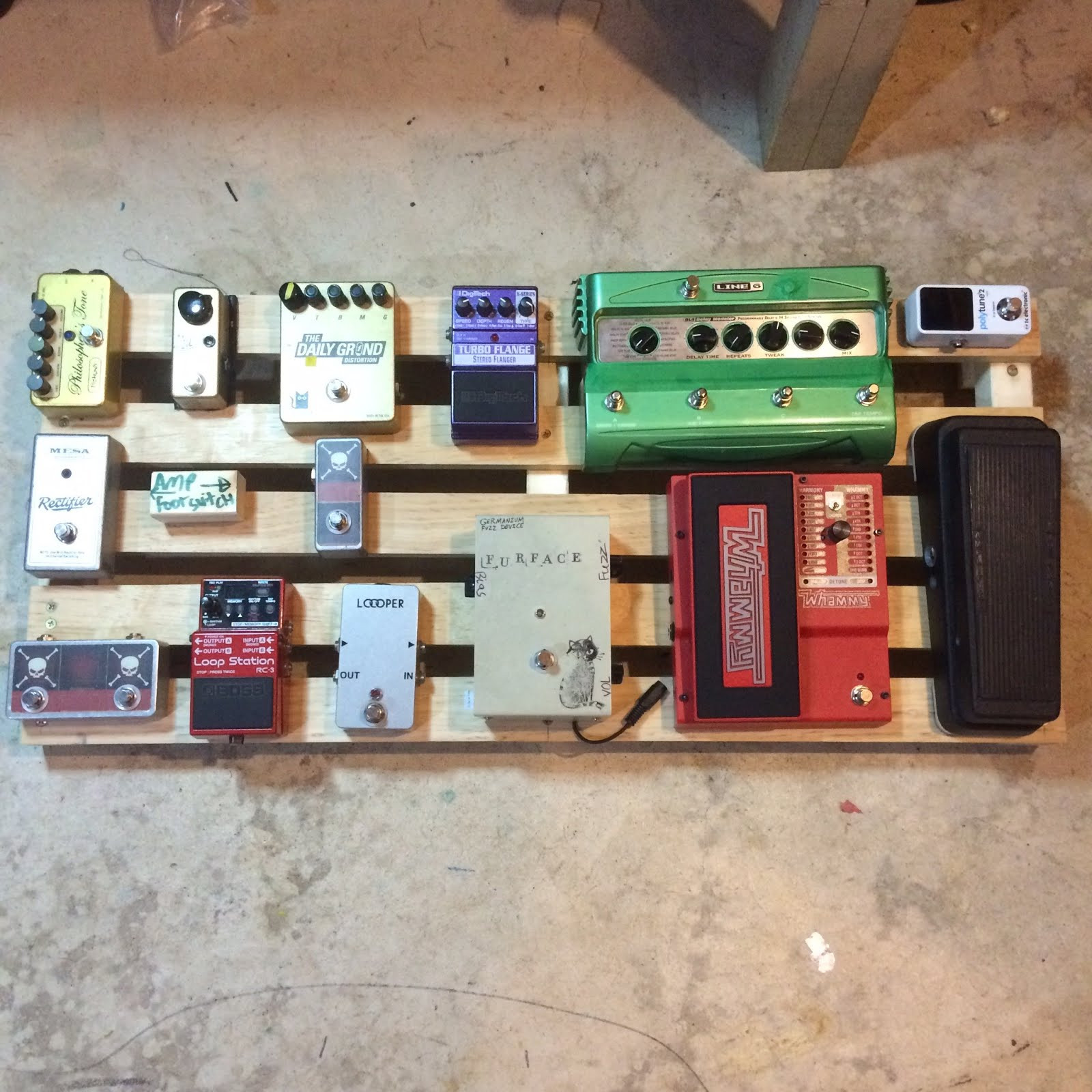 Best ideas about DIY Pedal Board . Save or Pin Monzel s Guitar Blog DIY Pedaltrain Pedalboard Build Now.
