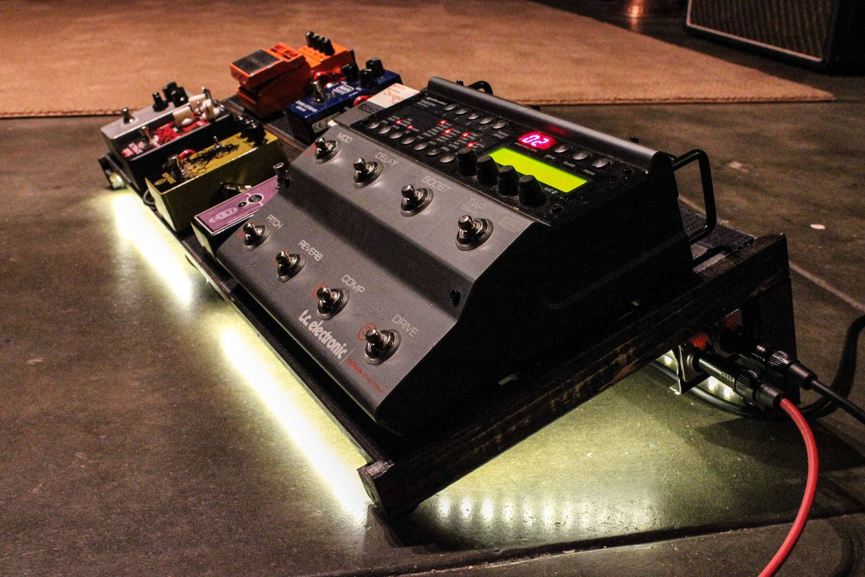 Best ideas about DIY Pedal Board . Save or Pin How to build a DIY Guitar Pedalboard for $19 tax Now.