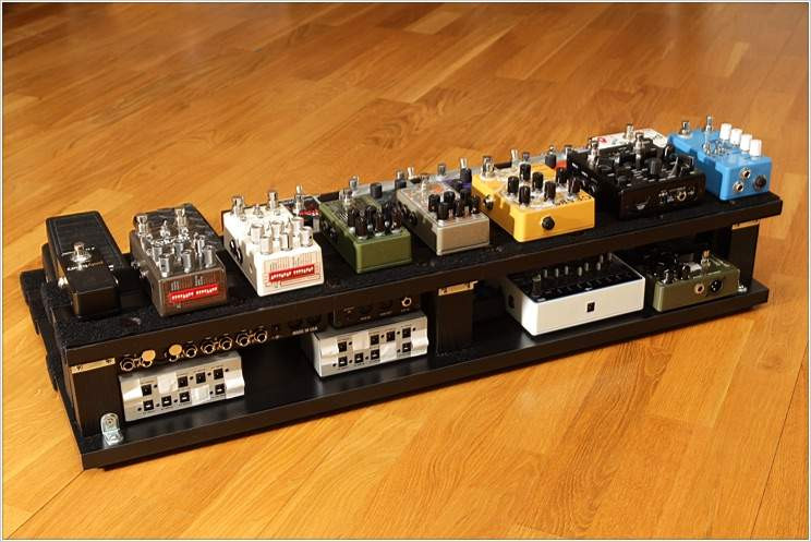Best ideas about DIY Pedal Board . Save or Pin New big DIY pedalboard [Update Nerdy diagrams Now.