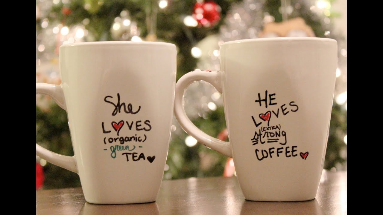 Best ideas about DIY Personalized Mugs . Save or Pin DIY Personalized mug Holiday Gift Idea C2C Day 6 Now.
