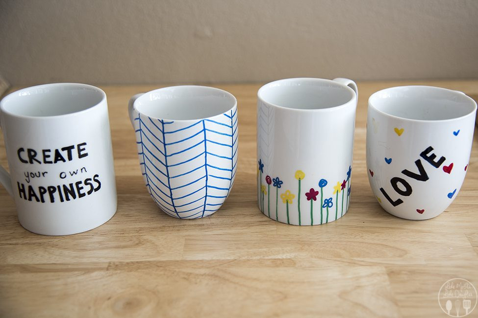 Best ideas about DIY Personalized Mugs . Save or Pin DIY Personalized Mugs Like Mother Like Daughter Now.