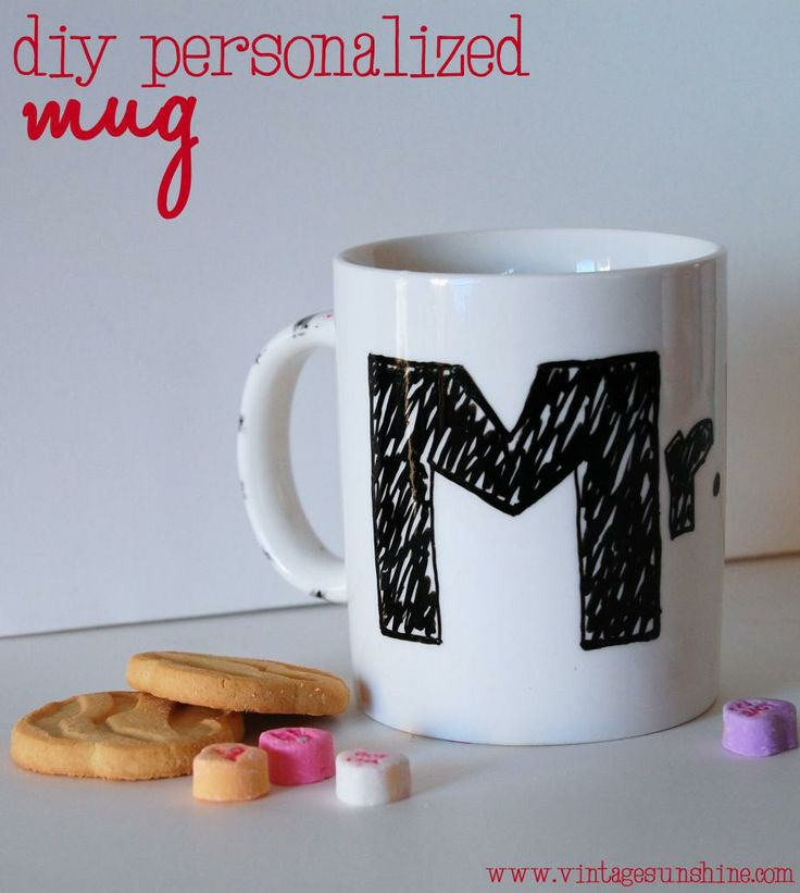 Best ideas about DIY Personalized Mugs . Save or Pin 40 best images about Coffee Mugs DIY on Pinterest Now.