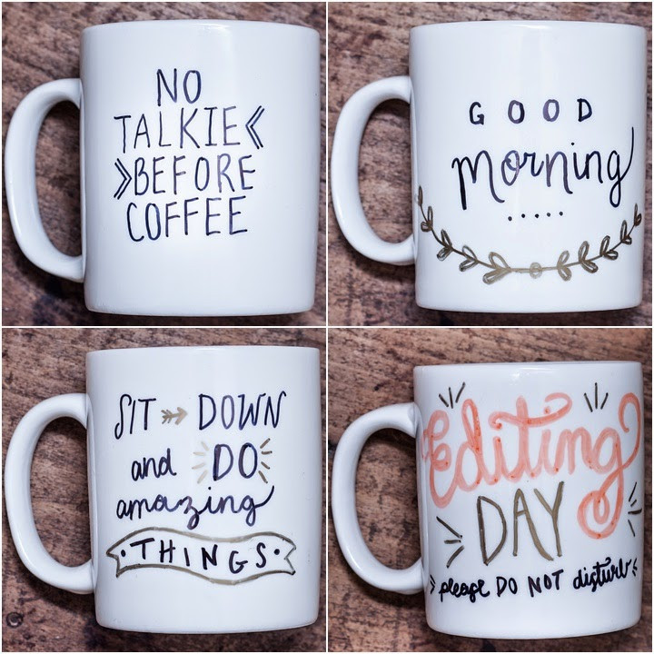 Best ideas about DIY Personalized Mugs . Save or Pin DIY Coffee Mugs for the Perfect Early Morning Sip Now.