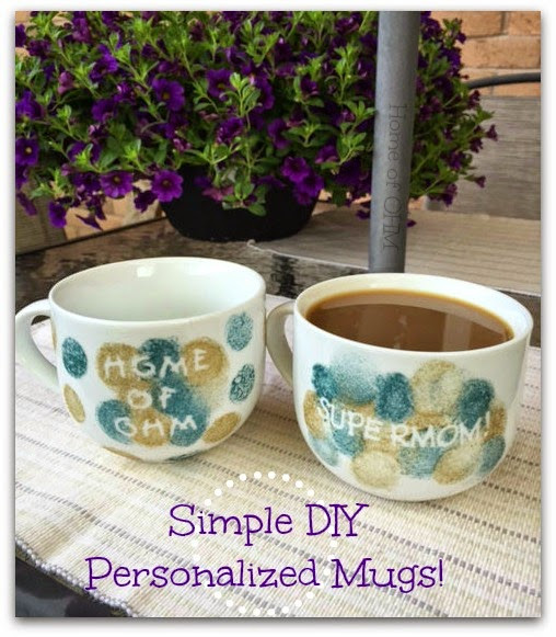 Best ideas about DIY Personalized Mugs . Save or Pin Home of OHM Simple DIY Personalized Mugs craft Now.