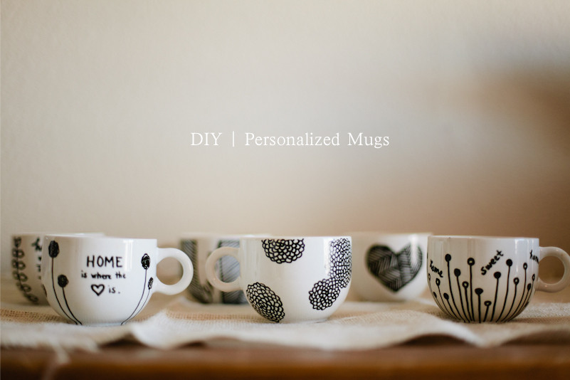 Best ideas about DIY Personalized Mugs . Save or Pin Don t Mind if I Do DIY Personalized Mugs aka Sharpie Mugs Now.
