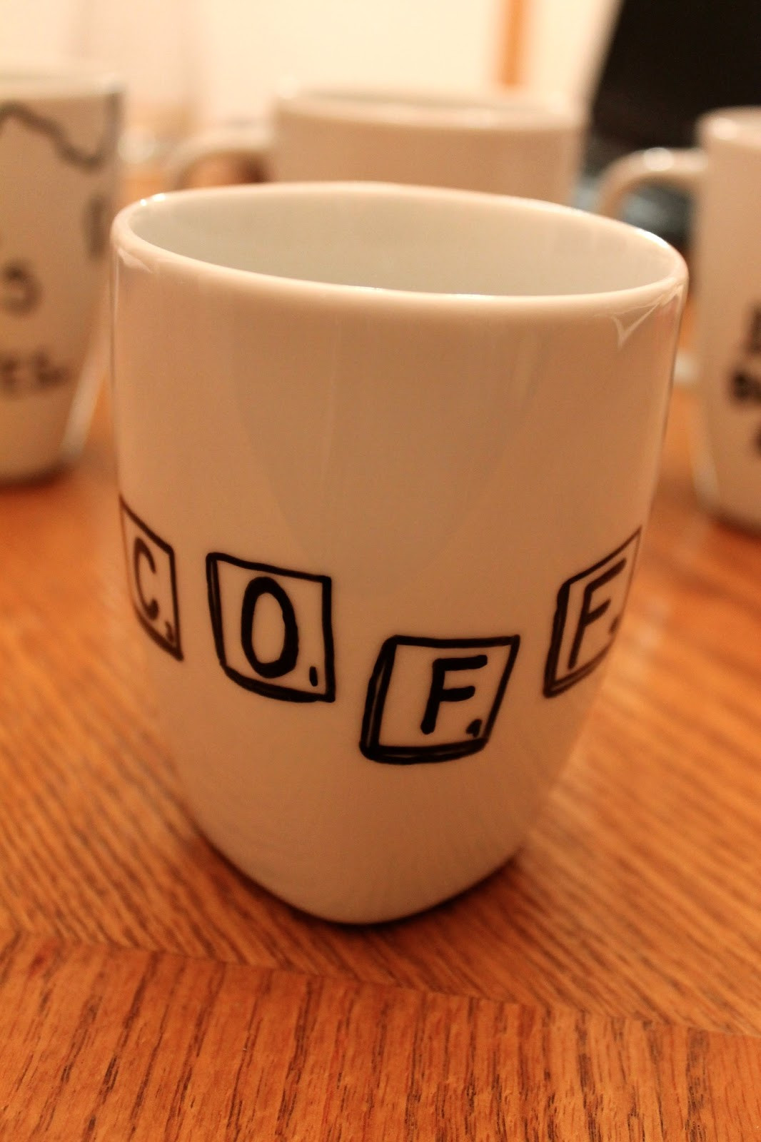 Best ideas about DIY Personalized Mugs . Save or Pin less is more DIY custom mugs Now.
