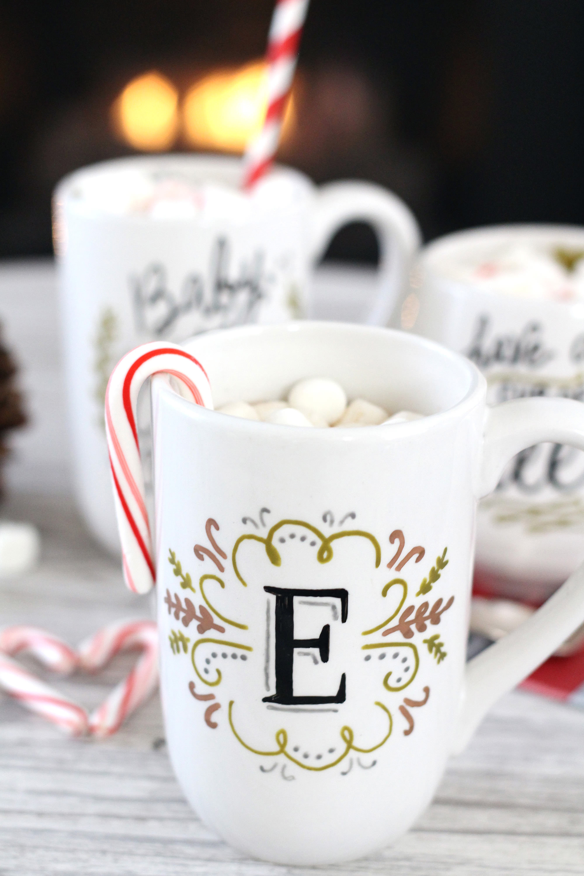 Best ideas about DIY Personalized Mugs . Save or Pin DIY Mug Gifts Using PaintedByMe Bake At Home Ceramics Now.