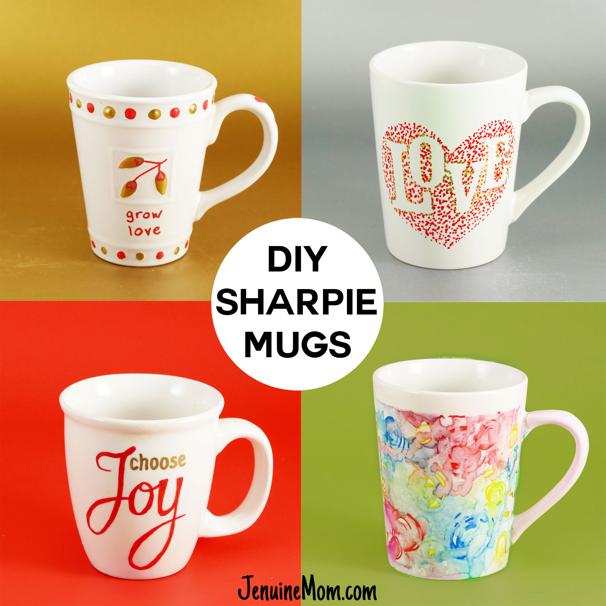 Best ideas about DIY Personalized Mugs . Save or Pin DIY Sharpie Mugs for Easy Personalized Gifts Jennifer Maker Now.