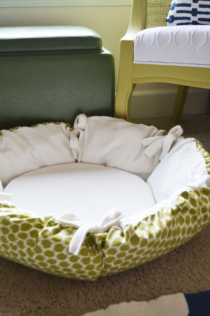 Best ideas about DIY Pet Beds . Save or Pin sarah m dorsey designs DIY Christmas Gifts Round Pet Bed Now.
