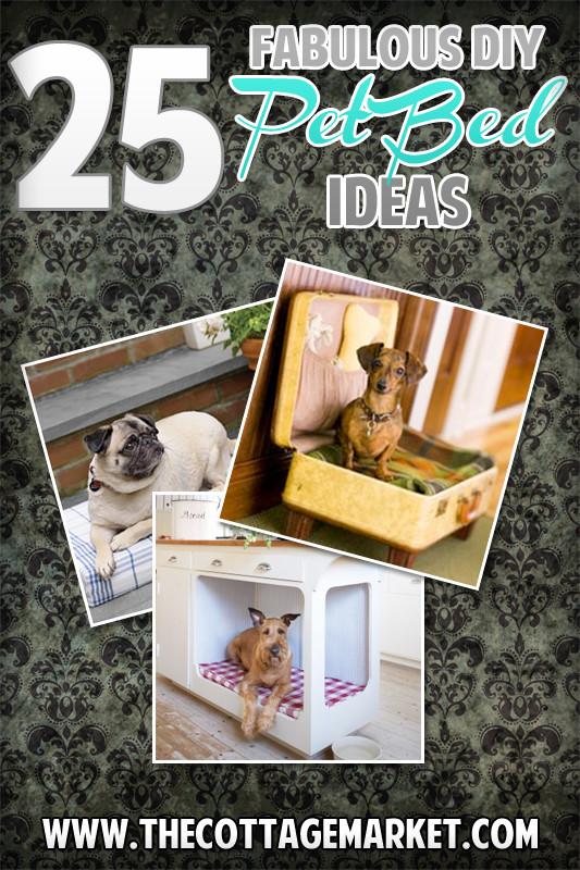 Best ideas about DIY Pet Beds . Save or Pin 25 Fabulous DIY Pet Bed ideas The Cottage Market Now.
