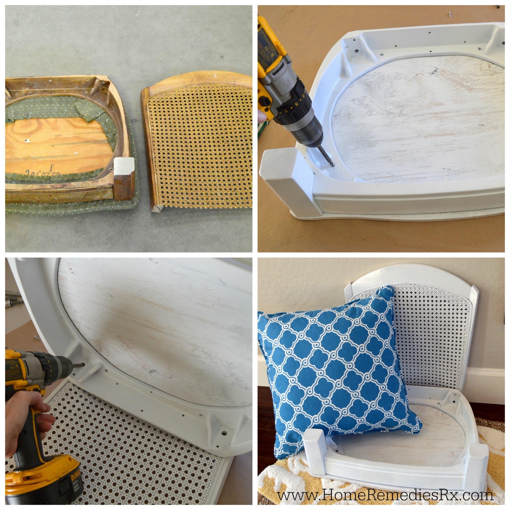 Best ideas about DIY Pet Beds . Save or Pin DIY pet bed made from a chair Now.