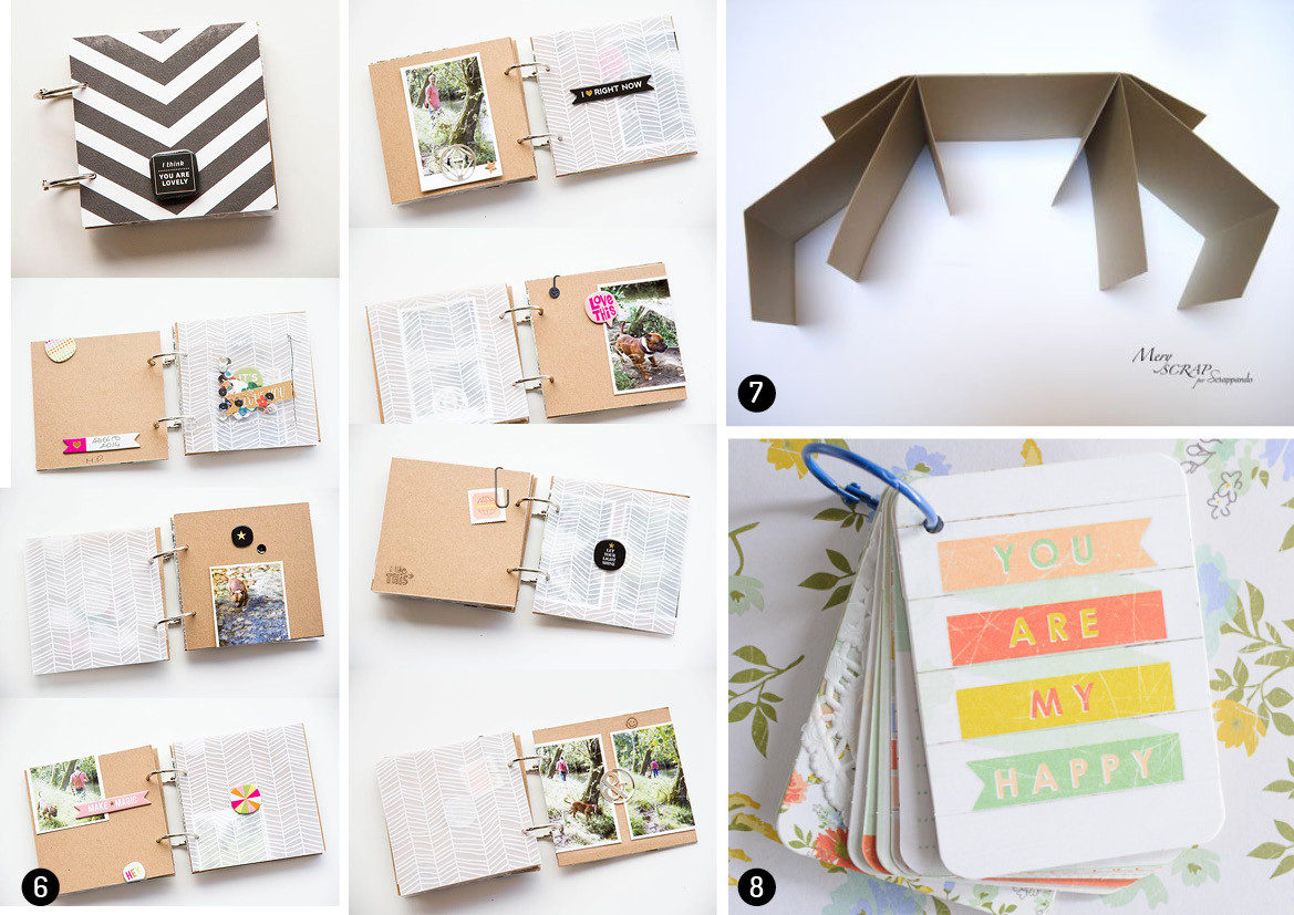 Best ideas about DIY Photo Album . Save or Pin Great diy photo album ideas Now.