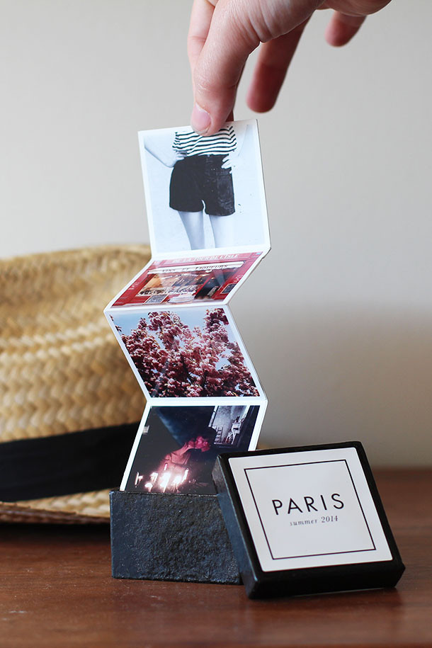 Best ideas about DIY Photo Album . Save or Pin Crafting with Canon Tiny Travel Album in a Box Now.