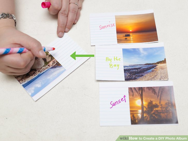 Best ideas about DIY Photo Album . Save or Pin 3 Ways to Create a DIY Album wikiHow Now.