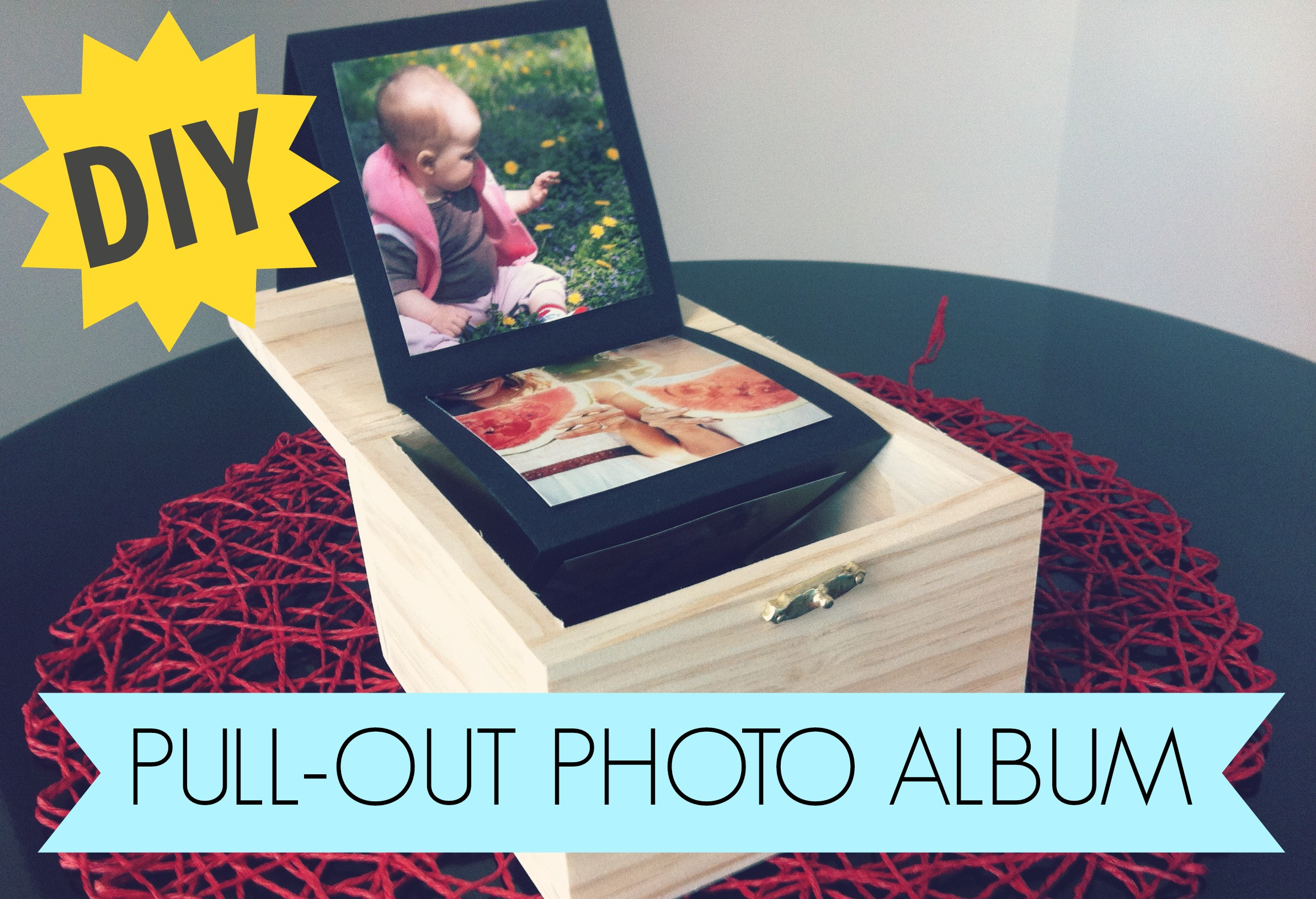 Best ideas about DIY Photo Album . Save or Pin DIY Pull Out Album Now.