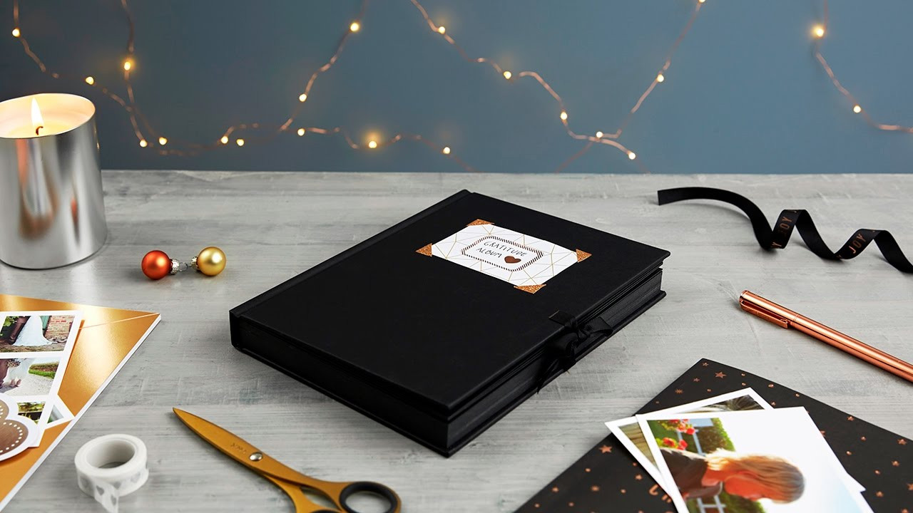 Best ideas about DIY Photo Album . Save or Pin How to Create a DIY Album for Christmas Now.