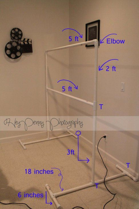 Best ideas about DIY Photo Booth Stand . Save or Pin DIY photography backdrop stand Now.
