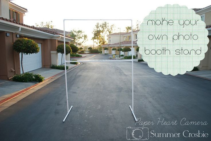 Best ideas about DIY Photo Booth Stand . Save or Pin 17 Best images about DIY backdrop stand and backdrops on Now.
