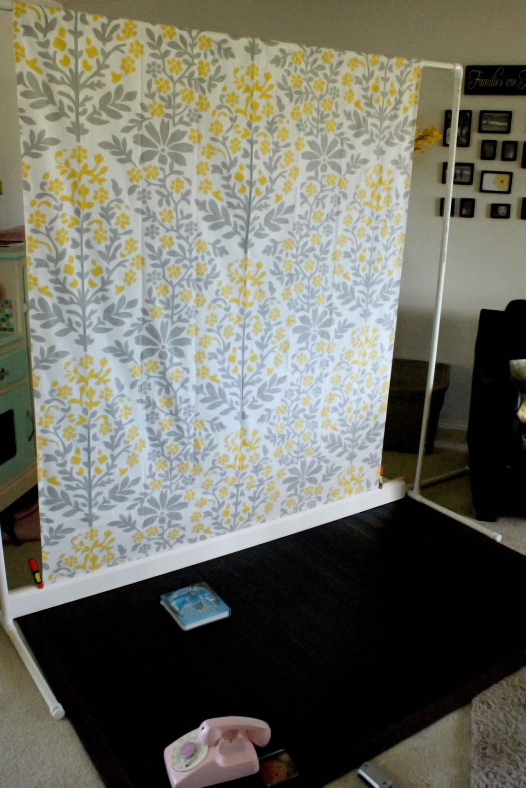 Best ideas about DIY Photo Booth Stand . Save or Pin Easy Peasy Pie Backdrop Stand Now.