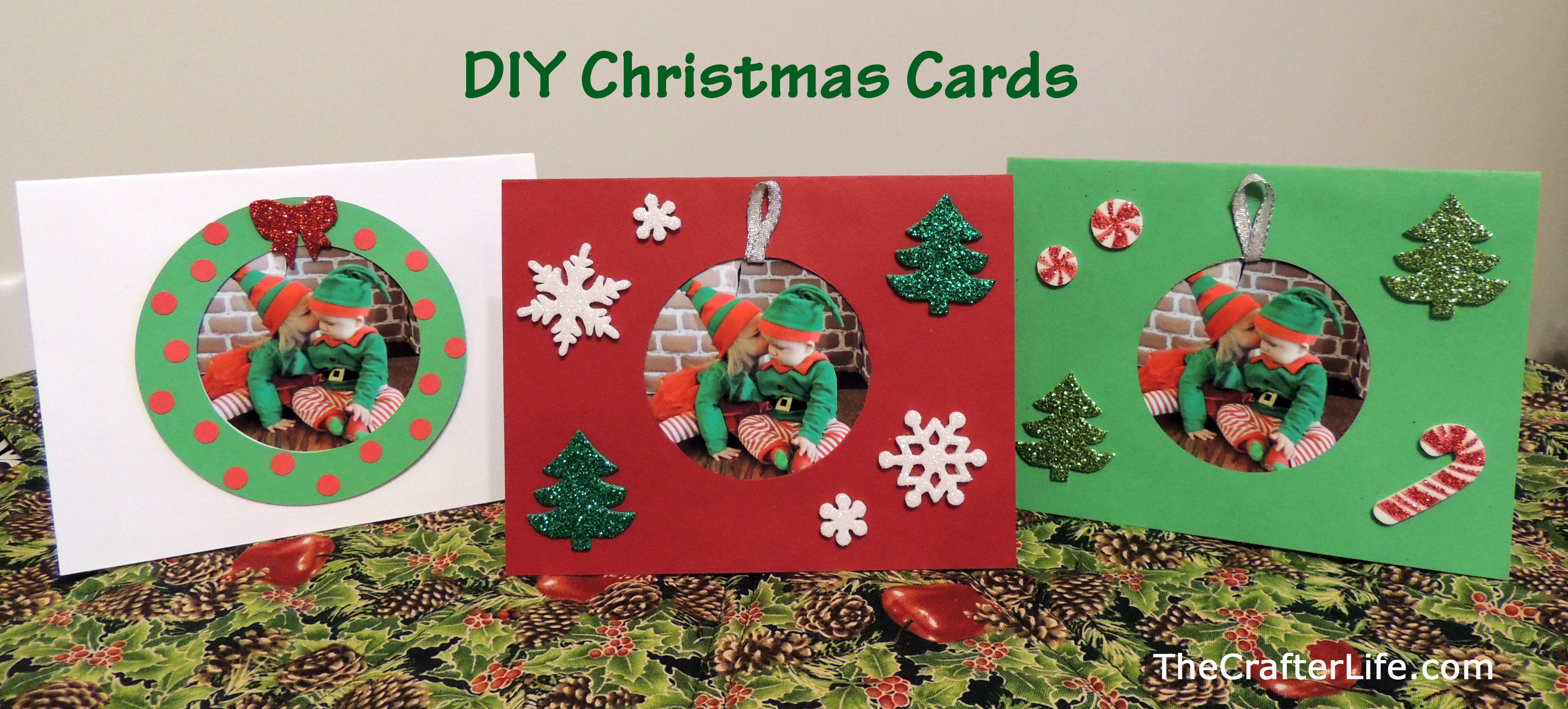 Best ideas about DIY Photo Christmas Cards . Save or Pin DIY Christmas Cards The Crafter Life Now.