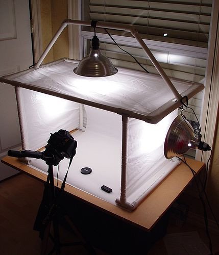 Best ideas about DIY Photo Studio Box . Save or Pin Homemade Lightbox Now.