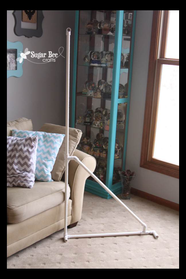 Best ideas about DIY Photography Backdrop Stands . Save or Pin DIY Backdrop Stand Sugar Bee Crafts Now.